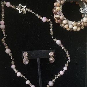 Purple Jewelery Set